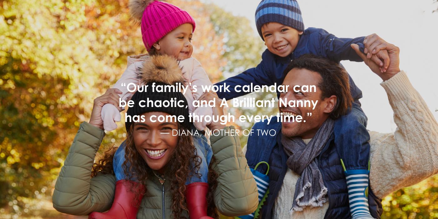 A Brilliant Nanny photography on website