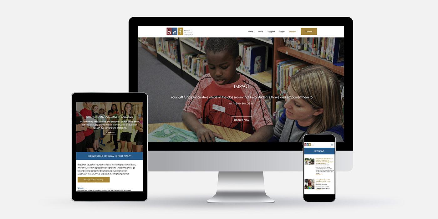 Beaverton Education Foundation website