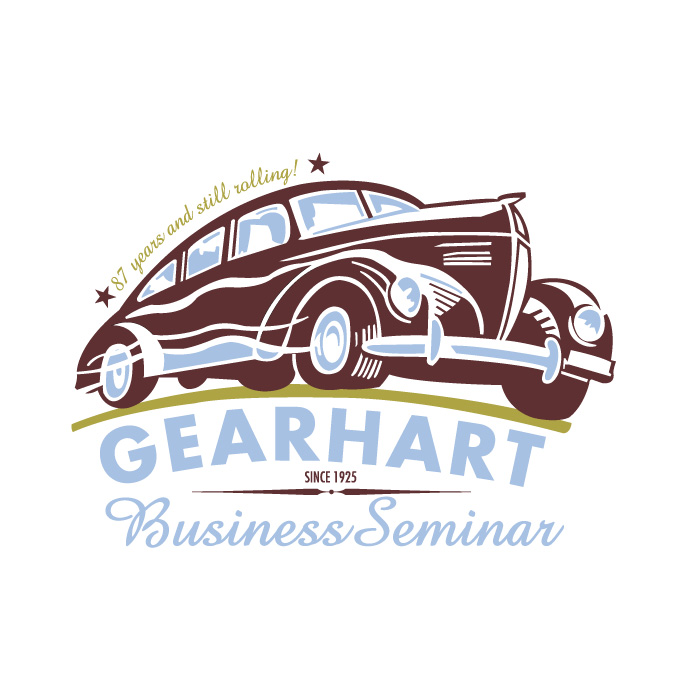 Oregon Automobile Dealers Association Gearhart Business Seminar logo identity