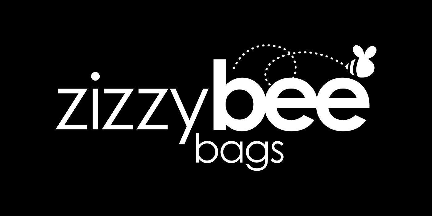 Zizzy Bee Bags black and white